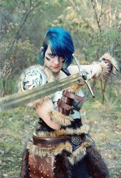 Skyrim cosplay #skyrim #dawnguard #hearthfire