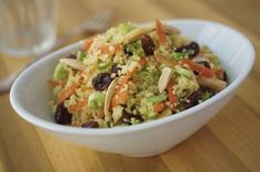 Recipe for couscous salad with carrot and raisins - Lifestyle - Boston.com
