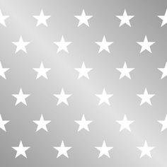 Seidenpapier Star silber