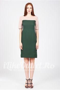 Rochie verde cu bej Madame - COS Cos, Dresses For Work, Fashion, Green, Moda, Fashion Styles, Fasion