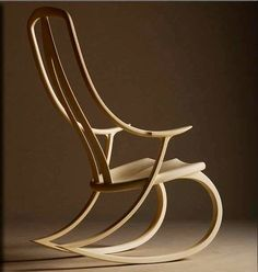 Fine Furniture by David Haig, Nelson, New Zealand Signature Rocking Chair by David Haig