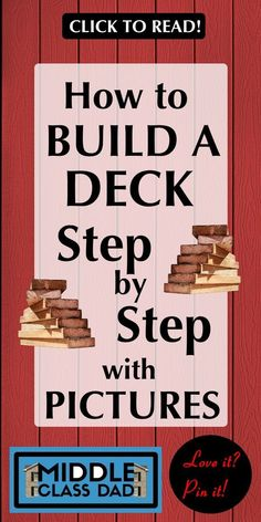 Looking for the best plans on how to build a deck step by step with pictures? Ju… Looking for the best plans on how to. New Deck, Back Deck, Deck Building Plans, Building Steps, Building A Floating Deck, Building A Porch, Laying Decking, Deck Steps, Outdoor Steps