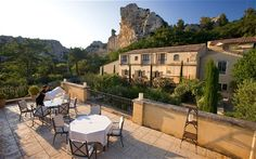 I love the L'Oustau de Baumanière restaurant in Les Baux, near Avignon in the south of France. I worked there when I was 18 or 19 or so, and Raymond Thuilier was the owner and chef. Now, every three years or so, I have the opportunity to go back to eat there and stay there as a customer. The restaurant is within a hotel - it's a fabulous place to visit. In the restaurant they're very famous for their baby lamb in puff pastry, which they made when I worked there as well. People come…