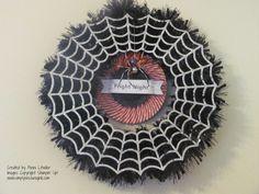 Simply Encouragink: My Spider Wreath