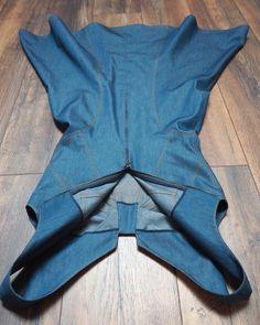Denim Jumper, Denim Top, Nice Dresses, Denim Dresses, Figure Skating Dresses, Zac Posen, Denim Fashion, Foto E Video, Sewing Patterns