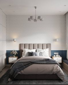 VK is the largest European social network with more than 100 million active users. Home Bedroom, Modern Bedroom, Bedroom Decor, Bed Design, House Design, Round Beds, Bed Styling, Guest Bedrooms, Bedroom Styles