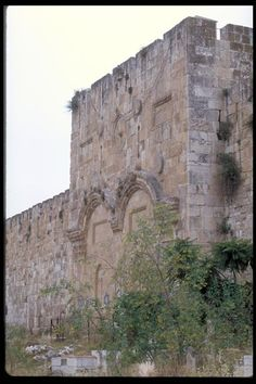 Golden aka Eastern Gate and Gates of Mercy, Jerusalem