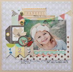 Megan Klauer:Thankful/Crate Paper
