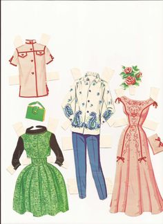 AAA Barbie clothes II 1963-3