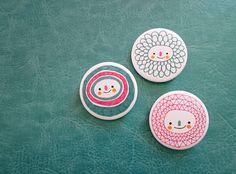 Pin badges - Alejandra Morenilla