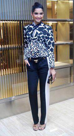 Sonam Kapoor Style: Bollywood Celeb Style: Sonam Kapoor in Gucci.