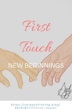 Finger tips touch. Anticipation Fingers interlaced Hearts Race Palms warm together One New Beginnings, Creative Writing, Short Stories, Storytelling, Poems, Writer, Author, Touch, Memories