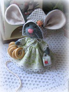 Купить Мышка малышка чаевница) - мышка, мышь, мышонок, мышка игрушка, мышь игрушка, мыши