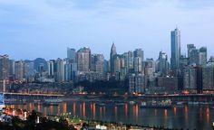 Chongqing in Southwest China