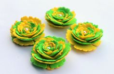 Hey, I found this really awesome Etsy listing at https://www.etsy.com/listing/177848039/gorgeous-fresh-green-and-yellow-flowers
