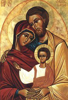 Ícone Sagrada Família