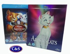 Disney's 20th Animated Classic The Aristocats Blu-Ray O-RING LTD EDITION ARTWORK.