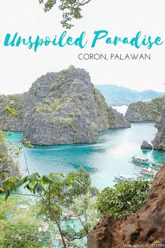 """Stunning, Breathtaking, Picturesque - just a few adjectives to describe """"the most beautiful island in the world"""".  Coron, Palawan  Philippines  jannaonajaunt.com"""