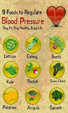 9 foods to regulate blood pressure