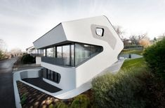 J.Mayer H. Architects have designed the OLS House near Stuttgart, Germany.