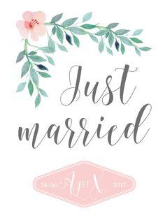 PANNEAU AFFICHE DECO DE MARIAGE - Création Dessine-moi une étoile