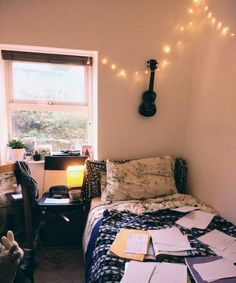 My room when I study :(