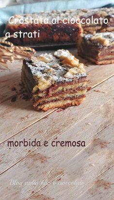 Chocolate Wafer Cookies, Chocolate Wafers, Chocolate Pies, Cake Cookies, Cupcake Cakes, Sweet Recipes, Cake Recipes, Jam Tarts, Italian Desserts