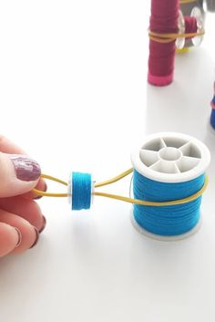 Sewing tips 539235755384033787 - Looking for inspiring ideas for thread and bobbin storage? Storing and organizing your spools and bobbins doesn't have to cost you a thing when you make these bobbin storage ideas yourself! Source by Sewing Hacks, Sewing Tutorials, Sewing Tips, Sewing Ideas, Dress Tutorials, Sewing Basics, Sewing Patterns Free, Free Sewing, Fabric Crafts