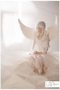 christmas angel tilda handmade