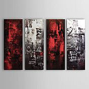 Hand-painted Abstract Oil Painting with Stret... – AUD $ 169.82