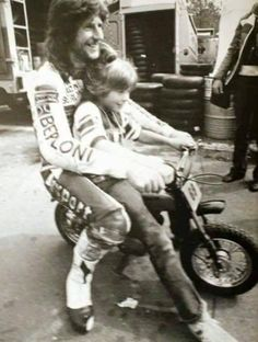 Graciano Rossi and Valentino Rossi.