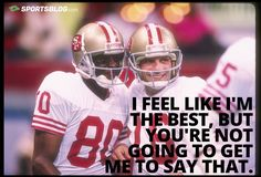 The #GOAT receiver in the #NFL Jerry Rice. Get paid to write about your passion for #Sports - Start your free blog today at http://www.SportsBlog.com