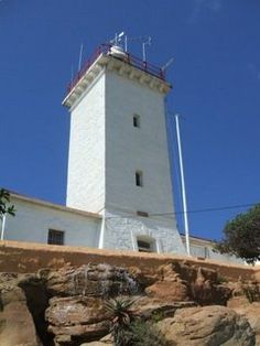Lighthouses of S Africa Cape St Blaize Lighthouse This lighthouse is situated at Mossel Bay. It is a 20.5 meter masonry tower and was commissioned on 15 March 1864. For further info see Gerrit's previous blog.