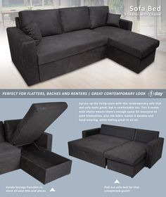 Talmage Storage Sofa Bed