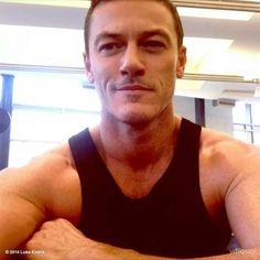 Luke at the gym 111214