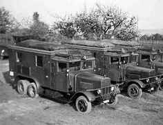 Henschel 33 D1 Kfz.72, Radio Communication Trucks | by Net-Maquettes