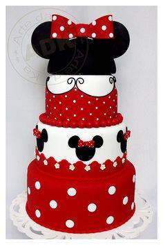 Bolo Minnie. | artedaka.wordpress.com/ | Karine Alves | Flickr