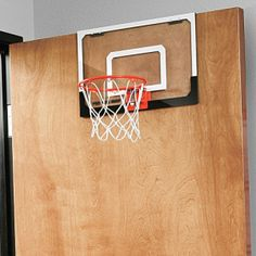 For those who want to play basketball at home Indoor Basketball Hoop, Basketball Systems, Steel Rims, Door Hooks, Mood, Play, House, Products, Haus
