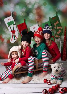 Picture-perfect matching family pajamas - a MUST this holiday! No need to gift wrap! Every PajamaGram includes free gift packaging. Complete Christmas morning with matching PJs.