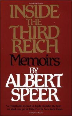 Inside the Third Reich by Albert Speer - Alla morte di Todt, Speer viene nominato dal Führer ministro per l'Armamento. L'ancor giovane architetto diventa praticamente l'efficiente manager dell'economia bellica nazista e l'uomo più importante della Germania dopo il Führer che ne aveva grande stima e lo elevava ad alto rango.