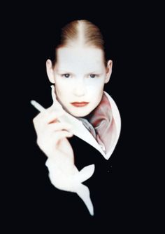 Kirsten Owen by Paolo Roversi for Romeo Gigli.