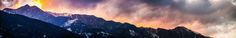 Winter sunset behind Cangshan mountain near the ancient old town of Dali, Yunnan, China | China | one of the most colorful and multifarious countries on this planet | find more photographs and films on tripfabrik.de #china #asia #travel #photography #landscapes #nature #impressions | Dali 360 Anthology