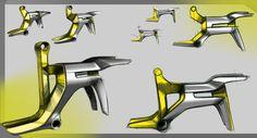 Bicycle Design, Transportation Design, Industrial Design, 3 D, Concept Product, Product Design, Cycling, Sketch, Pictures