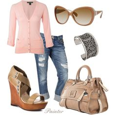 Cardigan Style, created by mels777 on Polyvore