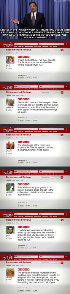 Positive Yelp Reviews