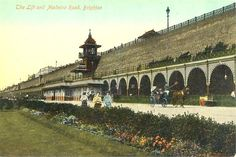 Postcards of the Past - Vintage Postcards of Brighton, Sussex Brighton Sea, Brighton England, Brighton And Hove, Brighton Sussex, Vintage Postcards, Vintage Photos, South London, Old Photos, Seaside