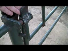 ARCeology: Inspired Welding Projects: Ranch Gate Latch - YouTube