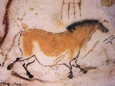Photo peinture rupestre de la grotte préhistorique de Lascaux