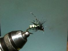 Combo Nymph River Fly Pattern - Olive