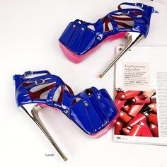 High Platform Shoes, Metallic High Heels, Big Sizes, Thick Heels, Strap Heels, Vegan Leather, Stiletto Heels, Shoes Sandals, Nails